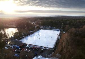 Så här i idylliskt såg det ut på Sjöaremossen i januari. Bild: Adam Ihse / TT