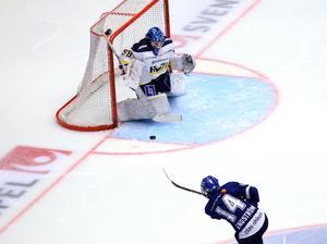 HV-målvakten Sabina Eriksson räddade 22 av 23 Leksandsskott.