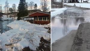 Till vänster: Sättnaån i Sundsvalls kommun. Bilden till höger är från Nyland i Kramfors kommun.