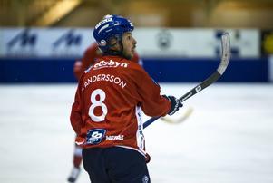 Hans Andersson tvåmålsskytt när Edsbyn besegrade Hammarby