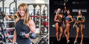 I helgen blev Evelina Persson svensk mästarinna i grenen Wellness Fitness.