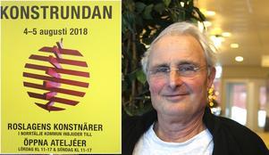 Konstrundan genomfördes 4-5 augusti förra året. Men årets runda ställs in. Konstföreningens ordförande Per Börjesson hoppas att den är tillbaka nästa år.
