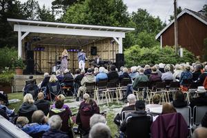 Fösta året hölls allsången på hembygdsgården i Tynderö. Foto: Viktor Sjödin.
