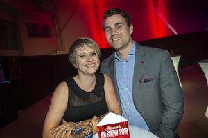 Mariette Nilsdotter-Lund och Niklas Lund såg fram emot showen.