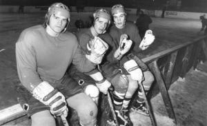 Tre gamla profiler från tiden i först Boston och sedan i Östersunds IK. Kalle Alander, Kent