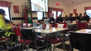 Husmanskost på amerikansk diner.Foto: Lunchkollen