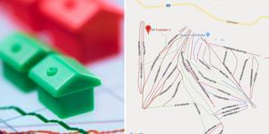 Länets dyraste adresserna finns i Malung-Sälens kommun.Bilden är ett montage.