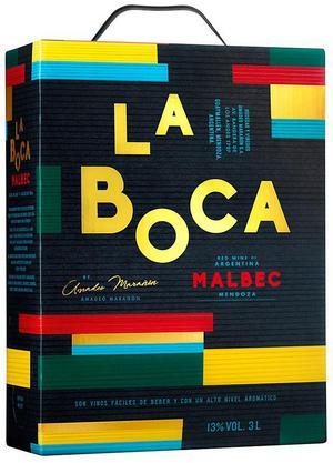 La Boca Malbec 2017.