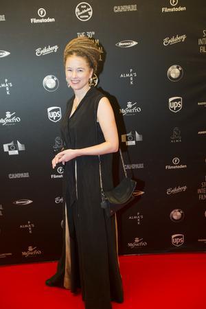 Amanda Lind på Stockholms filmfestival den 5 november.