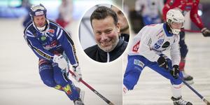 Johan Esplund och Robin Öhrlund är uttagna till landslagets samling i Rättvik. FOTO: Andreas Tagg/Rikard Bäckman