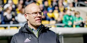 GIF-tränare Cedergren. Bild: Adam Ihse/TT