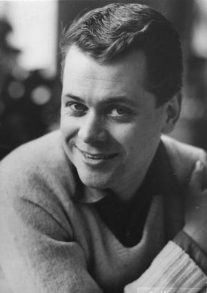 Artisten och programledaren Lars Lönndahl på en bild från 1959. Foto: TT