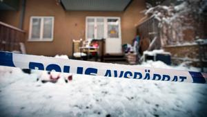 I den här lägenheten på Skallberget mördades den 42-åriga mannen i december 2016.