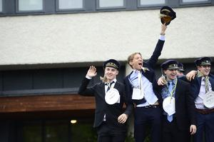 Studentfirande på Västermalms gymnasieskola 2019.