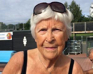Ingrid Salén, 90 år, pensionär, Haga