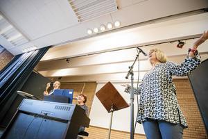 Solveig Engström är lärare på musikskolan och ser nu ljusare på framtiden.