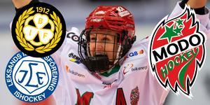 Sofia Engström är just nu skadad och kan inte spela för Modo. Foto: Tobias Sterner / BILDBYRÅN.