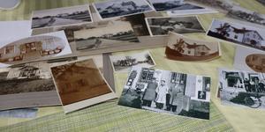 Bilder, kartor och köpebrev är sådant som kan berätta om gamla hus.