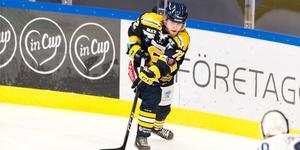 Nicolai Meyer gjorde en ny assist på söndagen – men SSK förlorade. Foto: Bildbyrån