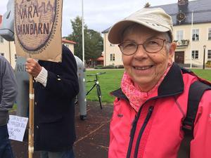 Heléne Wiberg, Fridays For Future Rättvik.