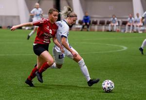 Team Hudiks utvecklingslag tog sig hela vägen till semifinal, men föll där mot division 1-laget Gefle.