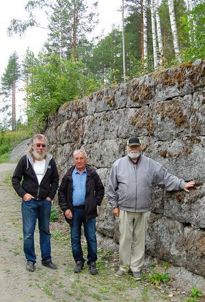 Jonny Frestadius, Torbjörn Brorsson och Bengt Erik Näsholm. Foto Britt Stenklyft