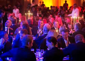 Under torsdagskvällen drar årets Stjärngala igång på på Galaxen i Borlänge. Bilden är tagen på Stjärngalan 2016.Foto: Dennis Pettersson/arkiv