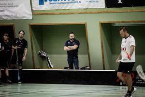 IBK Härnösands tränare Mikael Eriksson