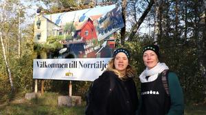 Porten till Norrtälje. Så beskriver Sara Lindström och Helena Lambert det område som de utforskar i sitt nya projekt.