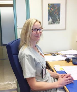 Erica Tibbelin vaccinationsansvarig specialistläkare på infektion Västerås sjukhus.