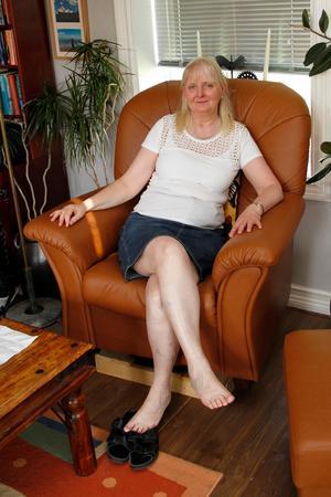 Oftast är Lisa Månsson Rydén på språng, med jobb, styrelseuppdrag eller andra åtaganden, men då och då hinner hon sitta en stund och vicka på tårna.