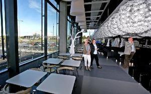 Restaurangen har 550 sittplatser med utsikt över närgränsande Kupolen. Foto: Johnny Fredborg