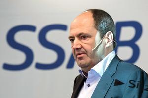 Martin Lindqvist är SSAB:s koncernchef. Foto: Fredrik Sandberg/TT