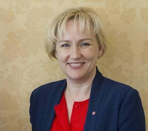 Minister för högre utbildning och forskning Helene Hellmark Knutsson (S)