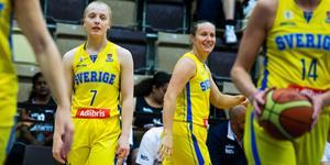 Elin Eldebrink och Klara Lundquist är redo för EM. Bild: Magnus Andersson/TT