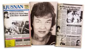 Ljusnans förstasida och insida onsdag den 13 juli 1988.