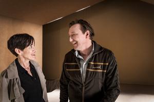 Cecilia Lindqvist och Mitja Sirén i Episod. Fotograf: Urban Jörén