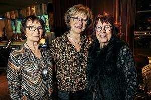 Margareta Wackerberg, Mait Sandgren och Maud Ljung Lapychak hade kommit för att se Kevin Walker.
