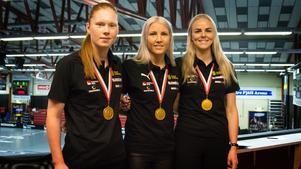 Från vänster: Johanna Hultgren, Anna Wijk och Amanda Hill.