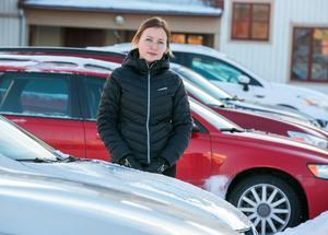 Désirée Fager är en av många som fått sin bil vandaliserad.