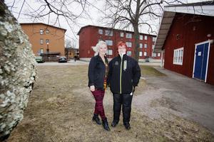 Gun Wadstedt Östling och Carola Leijding hoppas att mötesplatsen Kanalen ska bli en knutpunkt för boende på Öster och Gävle Strand.
