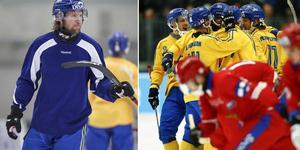 Patrik Sjöström får stå på sidan när kampen om guldet ska avgöras. Bild: Jonna Igeland / Thomas Johansson (TT)