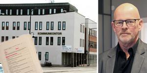 Christer Engström, kommunchef i Ovanåker, tycker att avtalet i Voxnabruk var olämpligt. Foto: Klas-Göran Sannerman, Marie Bergström.