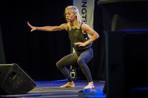Cecilia Gustafsson var en av instruktörerna.