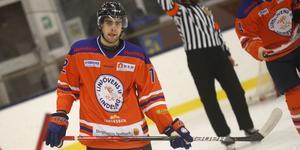 Örebro Hockey-junioren Casper Siösteen gjorde på onsdagen sin andra match för Lindlöven.