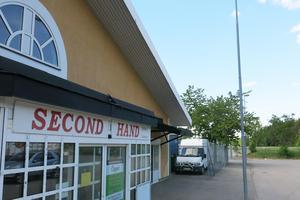 I Centrumhuset finns bland annat en second hand-butik i dag.