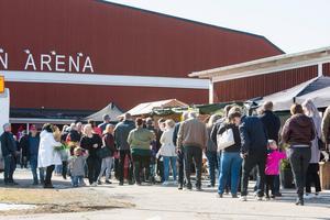 Närmare 5 000 av mässbesökarna kom från andra orter/kommuner än Smedjebacken. Foto: Andreas Sander