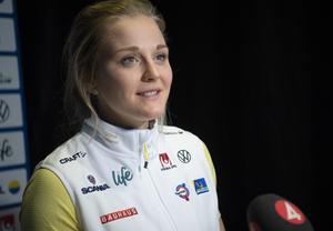 Stina Nilsson har en ny säsong framför sig. Bild: Fredrik Sandberg/TT.