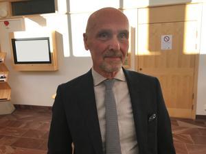 Hans Östberg, advokat i Falun.