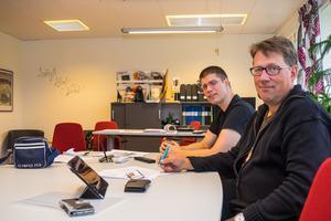 Lars-Gunnar Nordlander(S) och Anders Häggkvist(C) står bakom beslutet att utreda migrationens kostnader för Härjedalen.